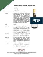 bouchie premiere fact sheet