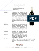 cantinot 05 fact sheet
