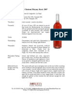 moyau rose fact sheet