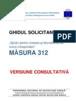 Ghidul SolicitantuluiM312 VERSIUNE CONSULTATIVÄ'