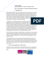 Communities 2.0 case study - Gofal Enterprises - version 1 - February 2011