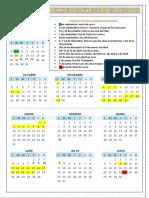 Calendario Escolar 2021 2022