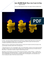 Moby Duck reading comprehension activity