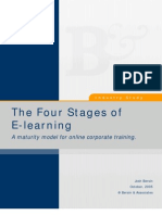 Four Stages of E-Learning Industry Study