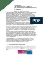 Communities 2.0 case study - Menter Iaith Sir Caerffili - version 1 - March 2011