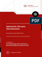 Ideologia Estado Universidad UNRN
