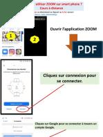 Toturial utilisation ZOOM sur Smart Phone