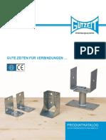 2B Conectori Metalici Gutzeit Katalog 2017