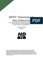 TRABAJO de TV De Alta Definición