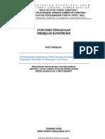 Dokumen Lelang Pantai Ladong 2011
