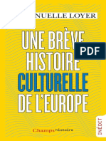 Une Breve Histoire Culturelle d - Emmanuelle Loyer