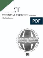 Piano- Liszt - Complete Technical Exercises