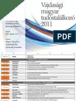 Vajdasági magyar tudóstalálkozó 2011