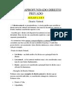 ESTUDO APROFUNDADO DIREITO PRIVADO 1 2 3