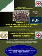 tema 3 COMPROMISOS DEL ESTADO BOLIVIANO EN DERECHOS HUMANOS