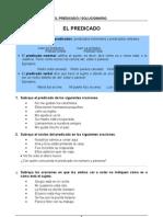 Tipos de predicado. 4-4-2011