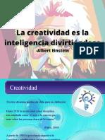creatividad. Presentacion.Ultima