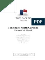 Take Back North Carolina Precinct Manual