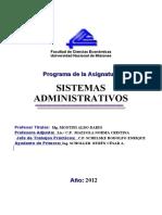 Programa SISAD -2012- Bibliografia Recomendada