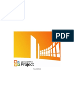 Guide MSProject