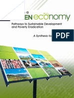 Green Economy Report -  Synthesis Report