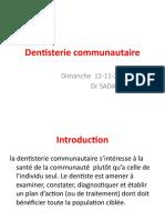 dentisterie communautaire