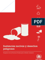 UNEP Factsheets - Harmful Substances (Spanish)