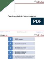 IPCalculus - Neurostimulation Patenting Activity