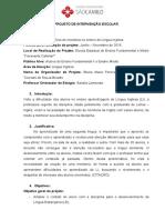Projeto de Intervenção- FC
