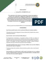Res No. 000374 Del 12 de Marzo Del 2021 Vinculacion Jovenes Investigadores Milena Urquijo - Juan Madrid