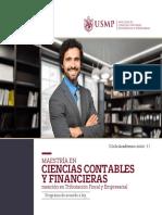Brochure Ciencias Contables Financieras Tributacion-fiscal Empresarial