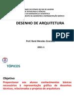 AULA 3 DESENHO DE ARQUITETURA