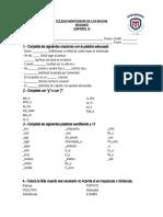 Examen de Ortografía