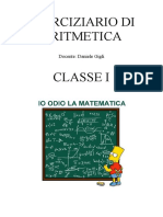 eserciziario aritmetica 1