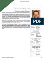 Emmanuel Macron — Wikipédia