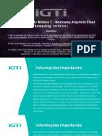 Slide Segunda Aula interativa - Módulo 1 - Bootcamp Cloud Computing