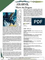 WFB8 - Asarnil Le Maître Des Dragons [FanMade by Vlast de Naggarond]