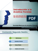 acustica forence