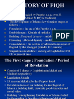 1.1 HISTORY OF FIQH
