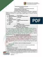 Formulario de Presentación de Proyectos