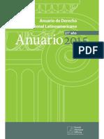 Anuario D Constitucional Latinoamericano 2015 - Referencia