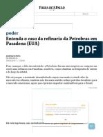 Entenda o caso da refinaria da Petrobras em Pasadena (EUA) - 30_03_2014 - Poder - Folha de S.Paulo