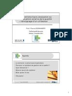 Referentiels d'auto-évaluation ou d'évaluation externe de la qualité