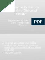 Media Studies Evaluation ppoint okabcd