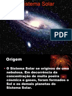 Aula 1 - Astronomia e Geodésia - Sistema Solar