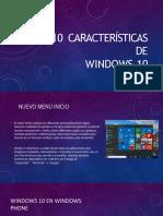 caracteristica de windows