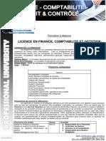 Licence Finance Comptabilite