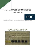 3. RESULTADOS PROPRIEDADES QUÍMICAS DOS GLICÍDEOS COMPLETO