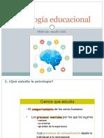Psicología educacional ppt 1