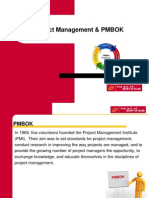 Project Management & PMBOK